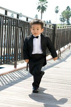 画像:男の子のフォーマル服
