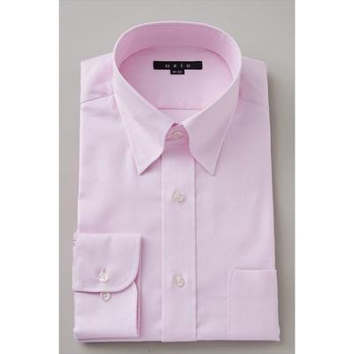 淡いピンクのワイシャツ