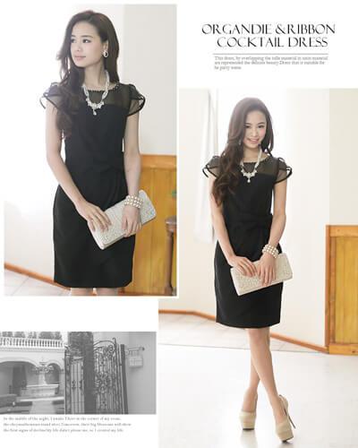 画像:黒のドレス