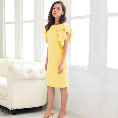 画像:黄色のドレス