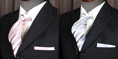 参考画像:夏におすすめのネクタイ