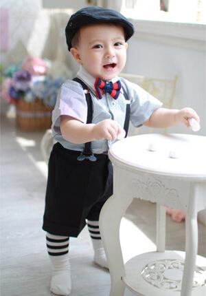 男の子のフォーマル(白の靴下)
