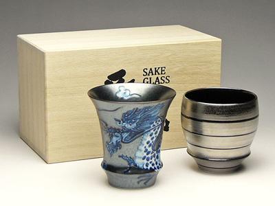 画像:有田焼の日本酒グラスセット
